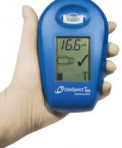 Analizor detectie hemoglobina DiaSpect Tm